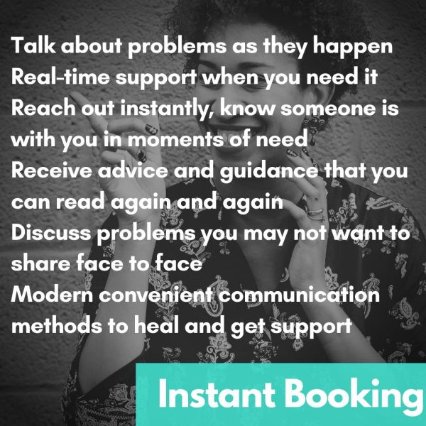 Online Therapy Instant Message Text Benefits