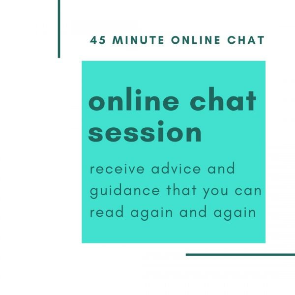 Online Therapy Online Chat Session